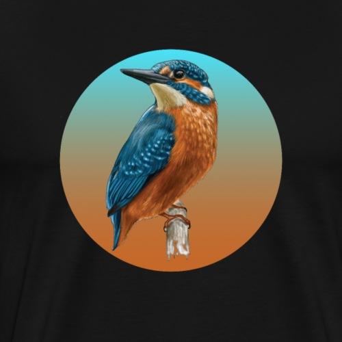 Birder - Kingfisher Bird - Men's Premium T-Shirt
