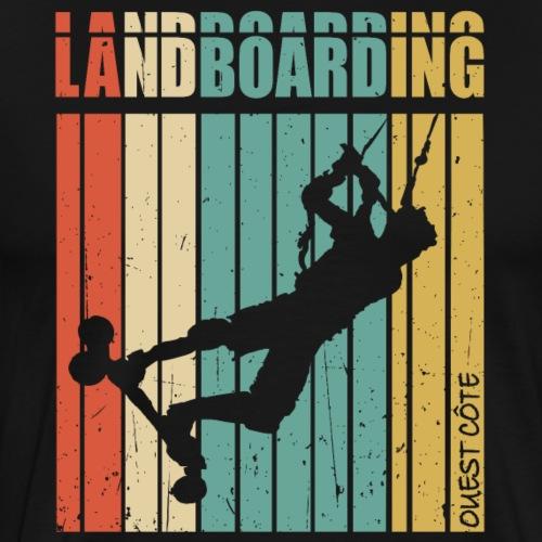 Kite Landboarding Ouest Côte - T-shirt Premium Homme