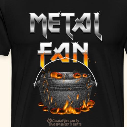 Metal Fan Sparks | Dutch Oven T-Shirts - Männer Premium T-Shirt