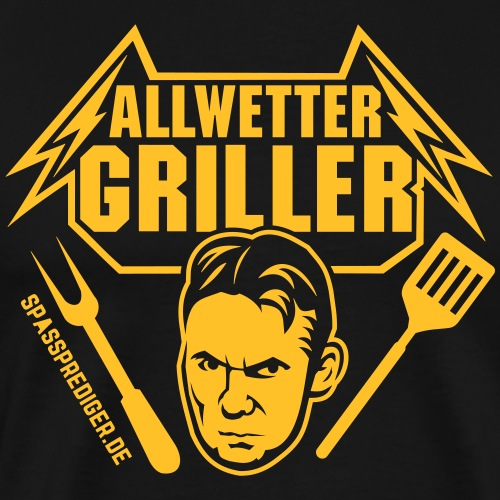 Allwettergriller - Männer Premium T-Shirt