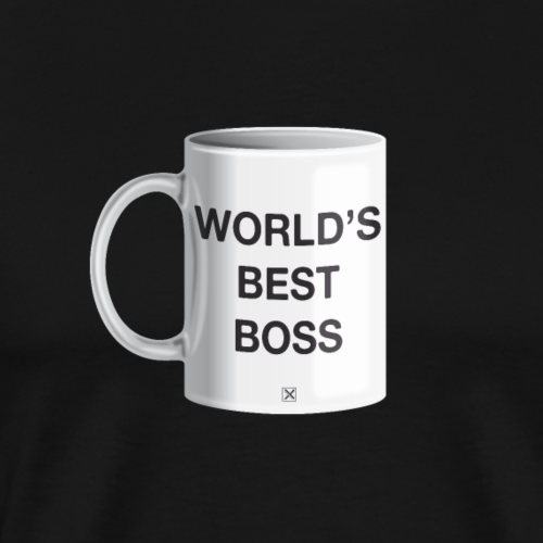 World's best boss - Camiseta premium hombre