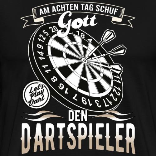 Dartspieler - Männer Premium T-Shirt
