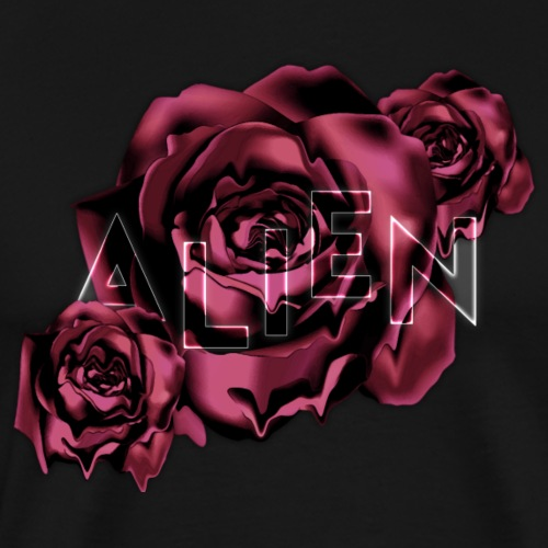 Rose Guardian Small - Premium T-skjorte for menn