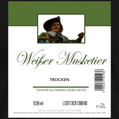 Musketier Etikett - Männer Premium T-Shirt
