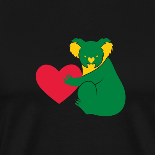 Koala Heart - Men's Premium T-Shirt