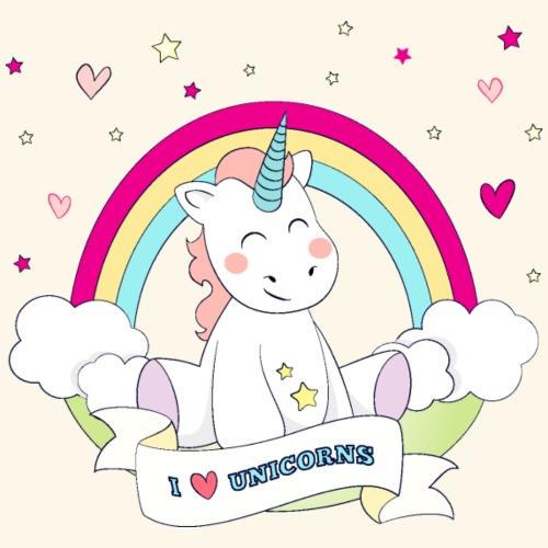 Cute Unicorn - Men's Premium T-Shirt