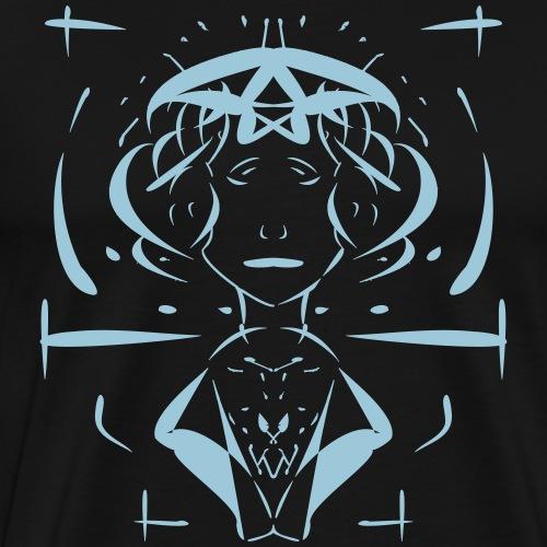 sad_lady_neu - Männer Premium T-Shirt