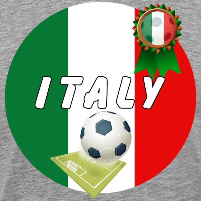 Italy Football Team pitch ball & Rosette