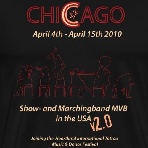 Chicago T-Shirt 2010 - Mannen Premium T-shirt
