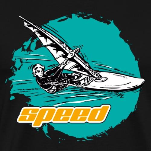 speedsurfer_tuerkis - Männer Premium T-Shirt