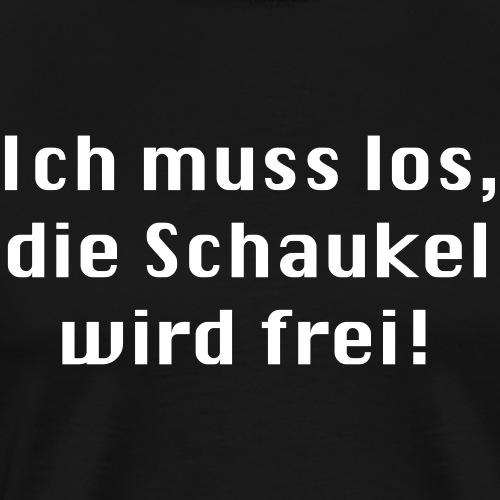Schaukel_wird_frei.eps - Männer Premium T-Shirt