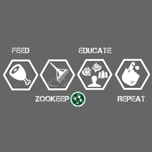 Zookeep1 - Männer Premium T-Shirt