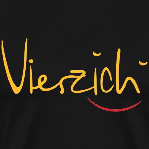Vierzich - Männer Premium T-Shirt