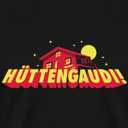 Hüttengaudi - Männer Premium T-Shirt