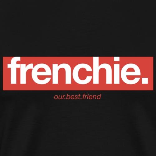 Frenchie Banner - Französische Bulldogge - Männer Premium T-Shirt
