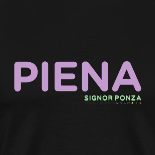 PIENA - Maglietta Premium da uomo