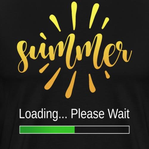 Summer Loading - Männer Premium T-Shirt