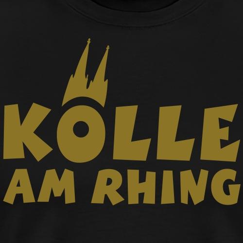 Köln am Rhein - Kölle am Rhing - Männer Premium T-Shirt