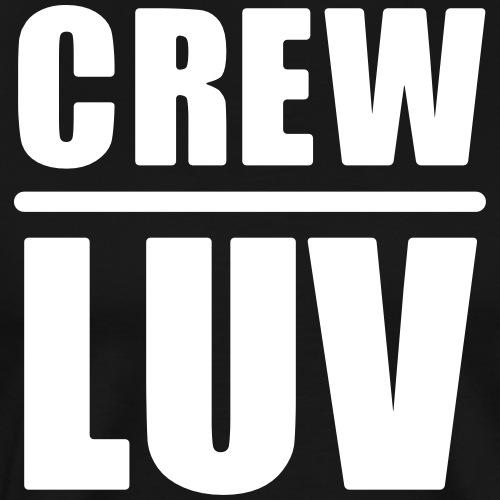 Crew Luv Festival Party Crew - Männer Premium T-Shirt
