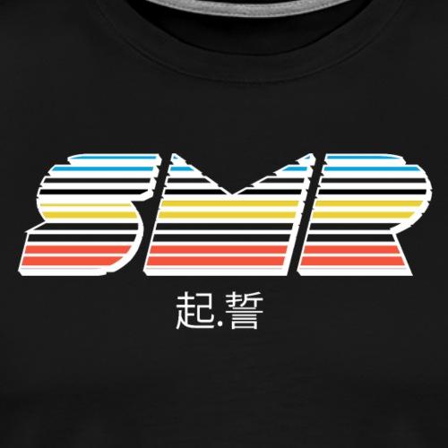 Color sur du Noir - T-shirt Premium Homme
