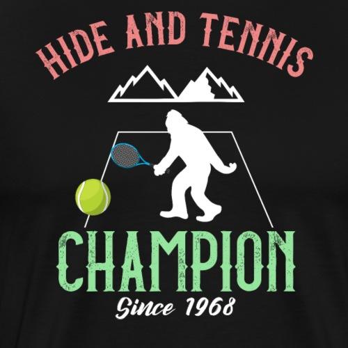 Bigfoot Hide and Tennis Champion Sasquatch - Männer Premium T-Shirt