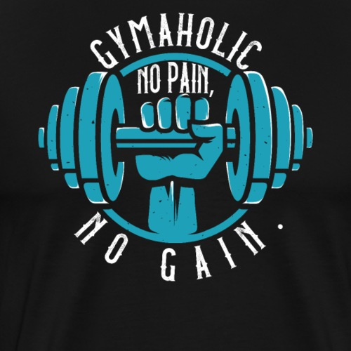 Gymaholic - Männer Premium T-Shirt