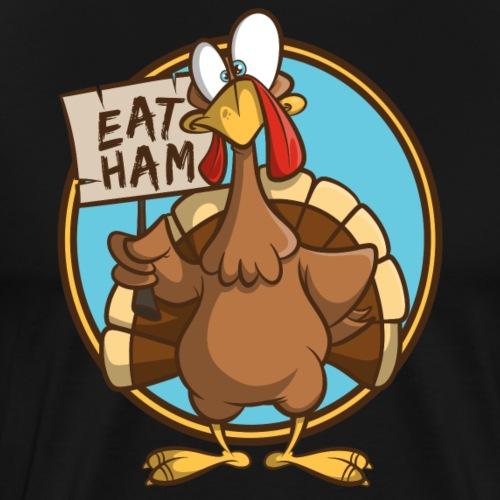 Truthahn Pute Weihnachten Thanksgiving - Männer Premium T-Shirt