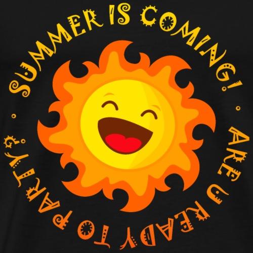 Summer is coming - Camiseta premium hombre