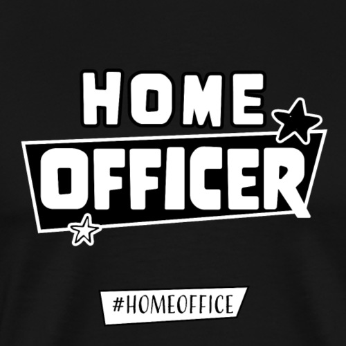 Home Officer - Männer Premium T-Shirt