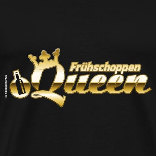 Frühschoppen Queen Gold für Mallorca, Ischgl & Co. - Männer Premium T-Shirt