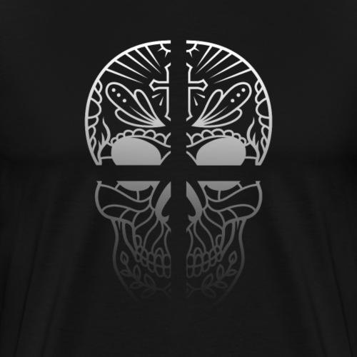 Skull Cross Totenkopf - Männer Premium T-Shirt