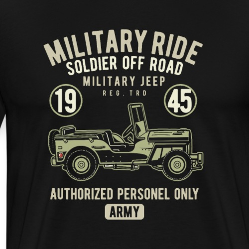 RETRO CAR 19 3 - Männer Premium T-Shirt