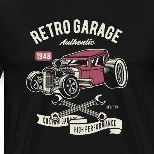 RETRO CAR 19 7 - Männer Premium T-Shirt