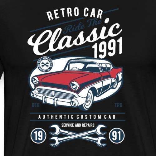 RETRO CAR 19 6 - Männer Premium T-Shirt