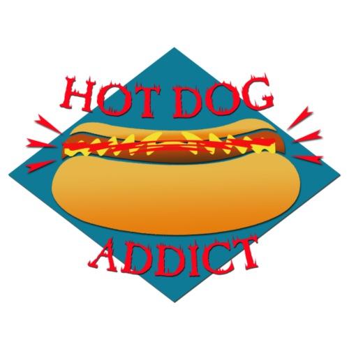 HOTDOG ADDICT - T-shirt Premium Homme
