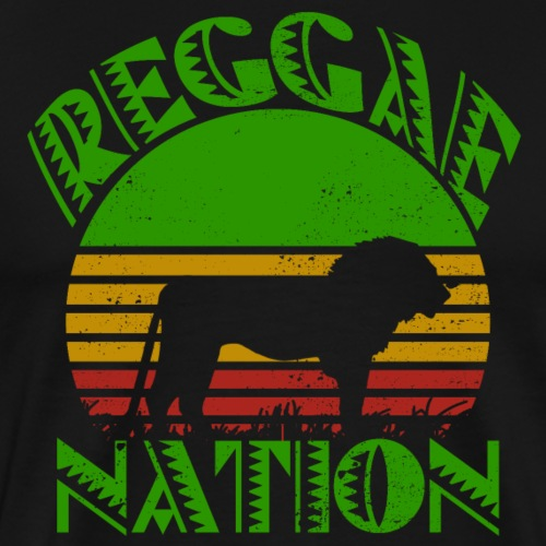 Reggae Nation - Männer Premium T-Shirt