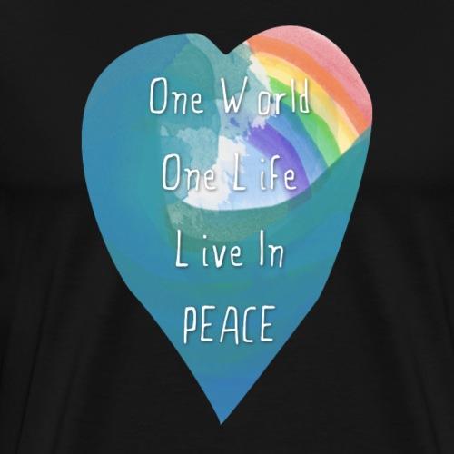 One World Rainbow - Men's Premium T-Shirt