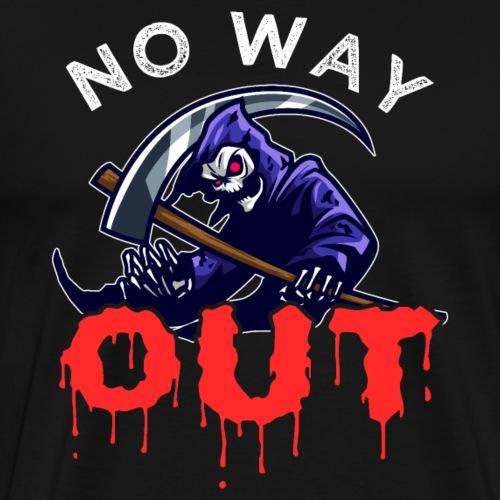 Grim Reaper No Way Out - Männer Premium T-Shirt