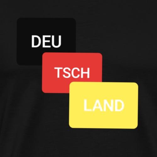 Deutschland + Land +Geschenk +Politik - Männer Premium T-Shirt