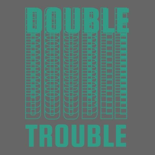 double trouble, double trouble, double trouble sher - Men's Premium T-Shirt
