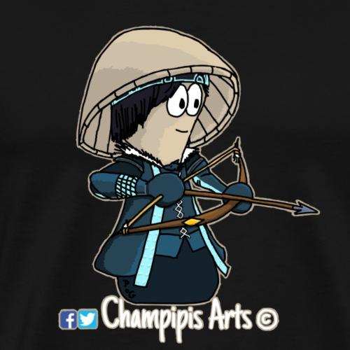 Custom_Champipie'Norn_Sign - T-shirt Premium Homme
