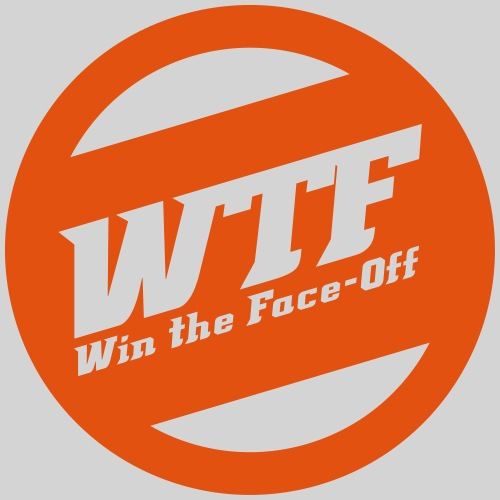 WTF - Win the Face-Off - Männer Premium T-Shirt
