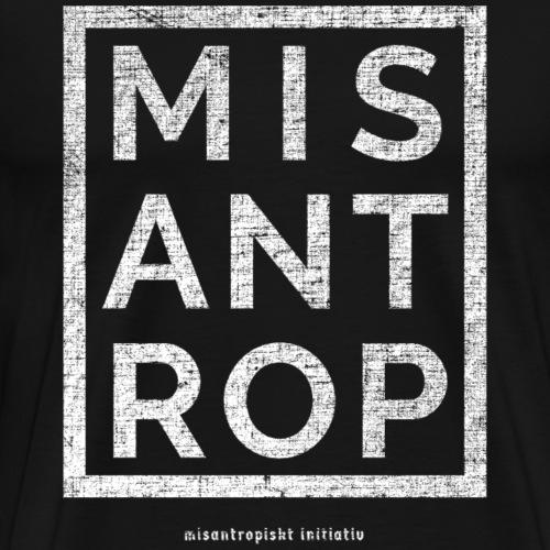 MIS ANT ROP - Vit - Premium-T-shirt herr