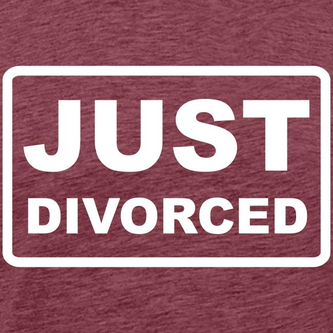 just divorced