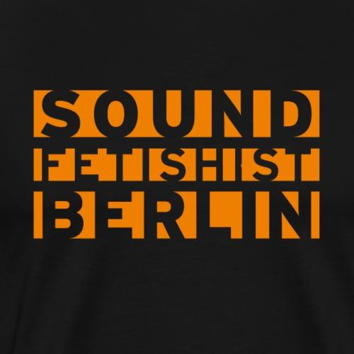 Sound Fetishist Berlin - Männer Premium T-Shirt