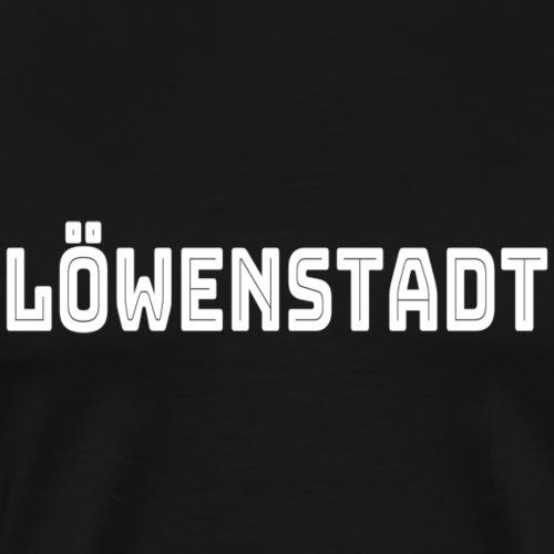 Löwenstadt - Männer Premium T-Shirt