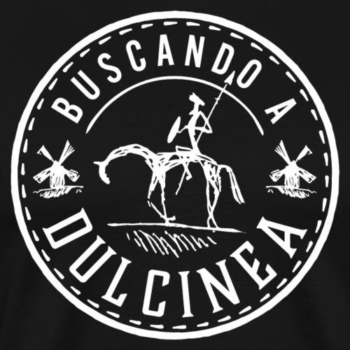 Dulcinea weiss - Männer Premium T-Shirt