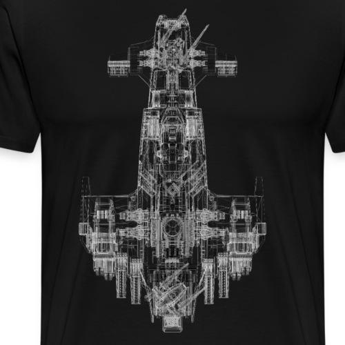 Scimitar Solo Wire 4000pi - Männer Premium T-Shirt
