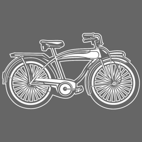 Beach Cruiser Fahrrad 01_weiß - Männer Premium T-Shirt