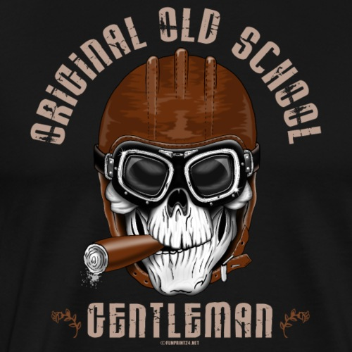 20-11 Original Old School Gentleman, Cool Products - Miesten premium t-paita